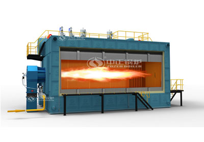 SZS series gas-fired(oil-fired) hot water boiler